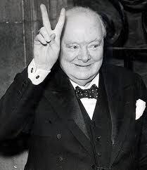 Winston Churchill (geef nooit op)