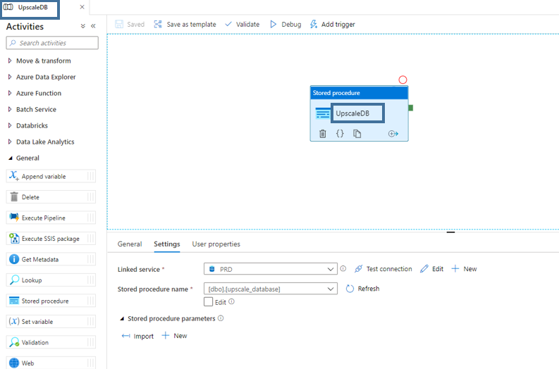 autoscaling azure sql database rename pipeline data factory adf